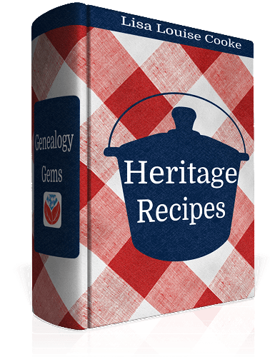 heritage recipes cookbook