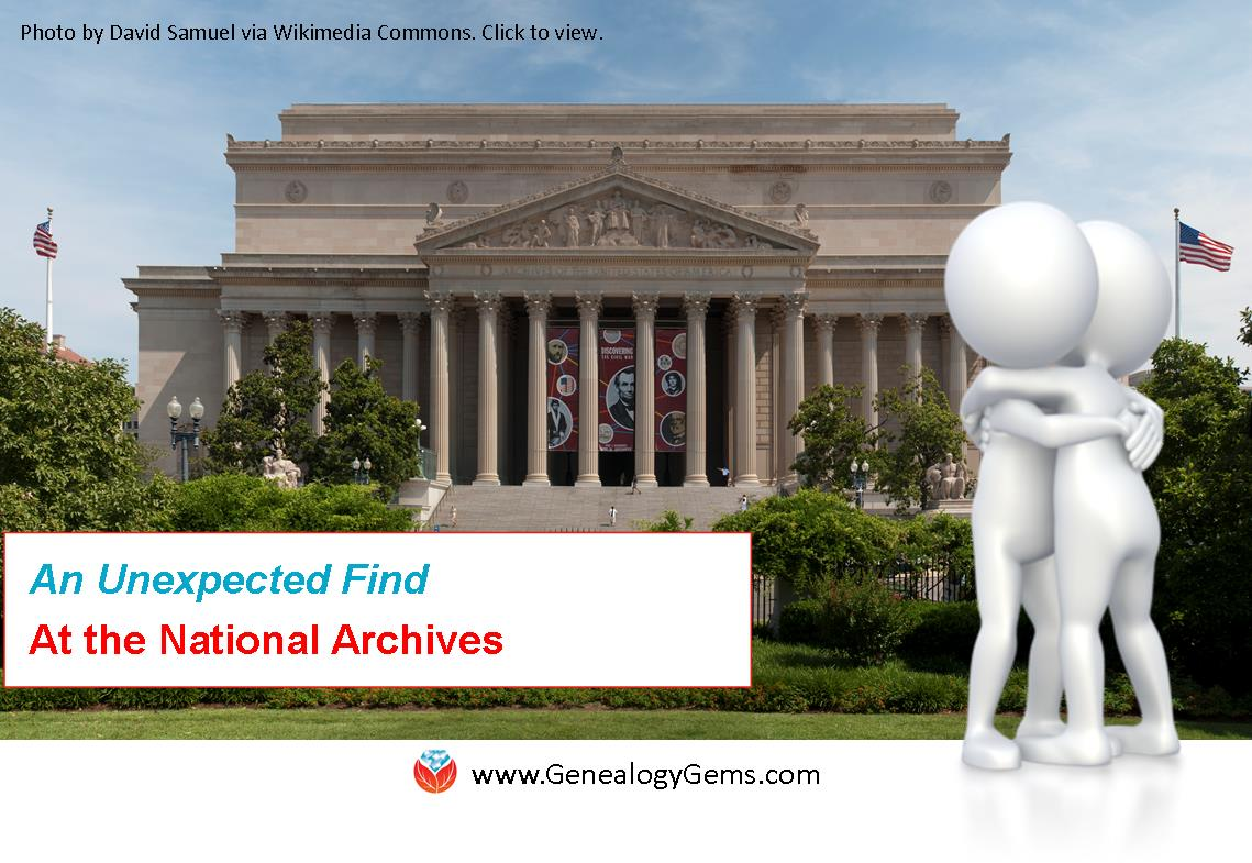 A Life Changing Find at the National Archives