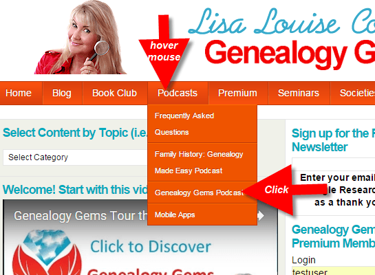 genealogy gems podcast how to 2
