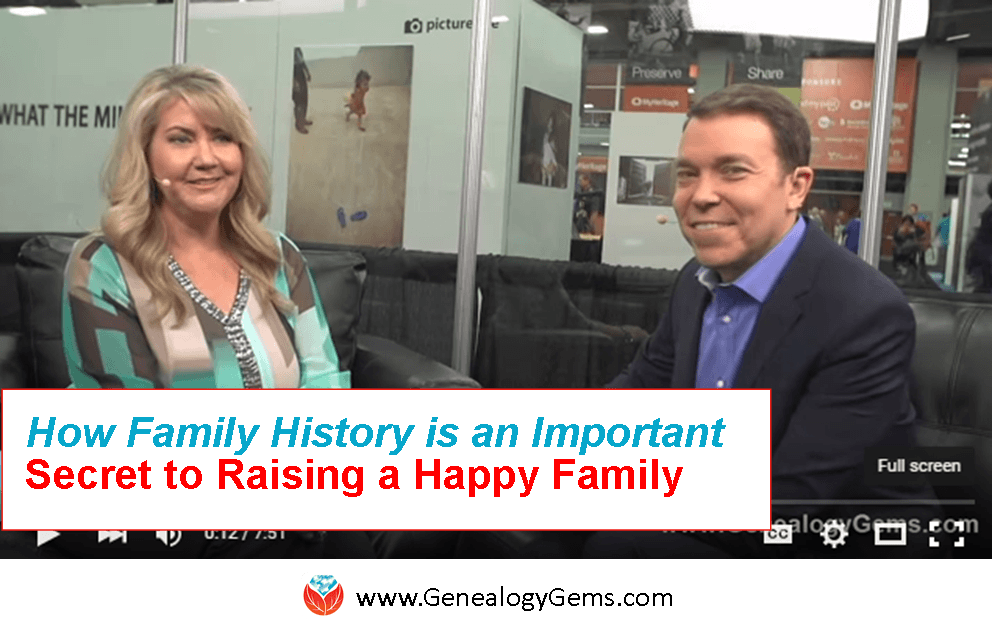 Psst… Secrets of Happy Families Include Family History