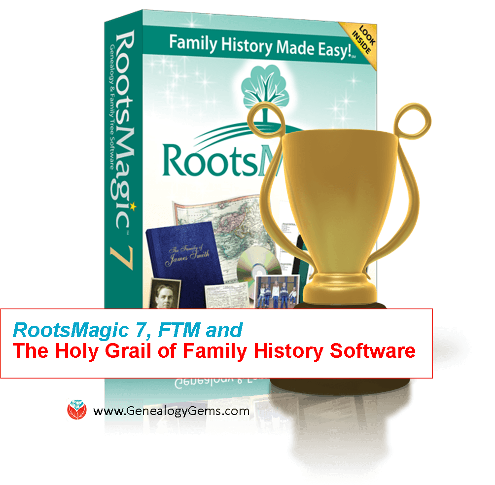 rootsmagic 7 holy grail family history software