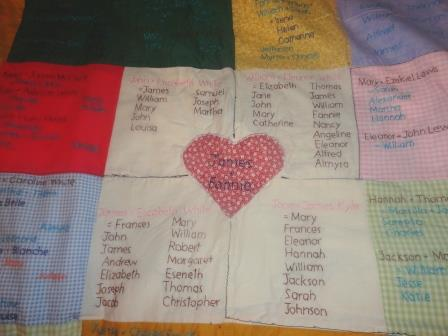 This Family Tree Quilt Stitches 2600 Relatives Together