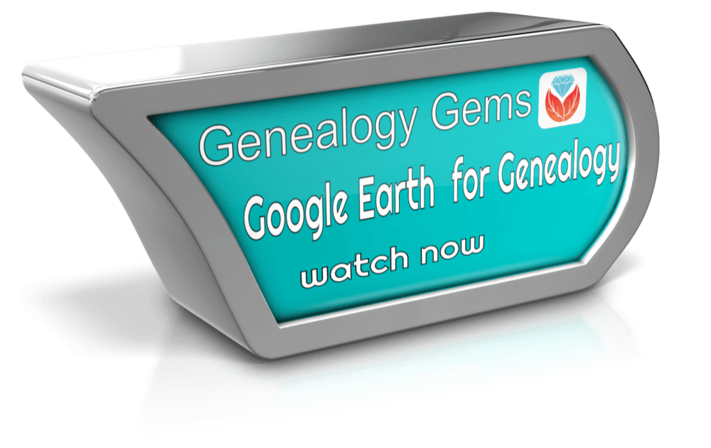 video how to use google earth for genealogy
