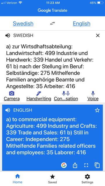 Google Translate Scan image 3