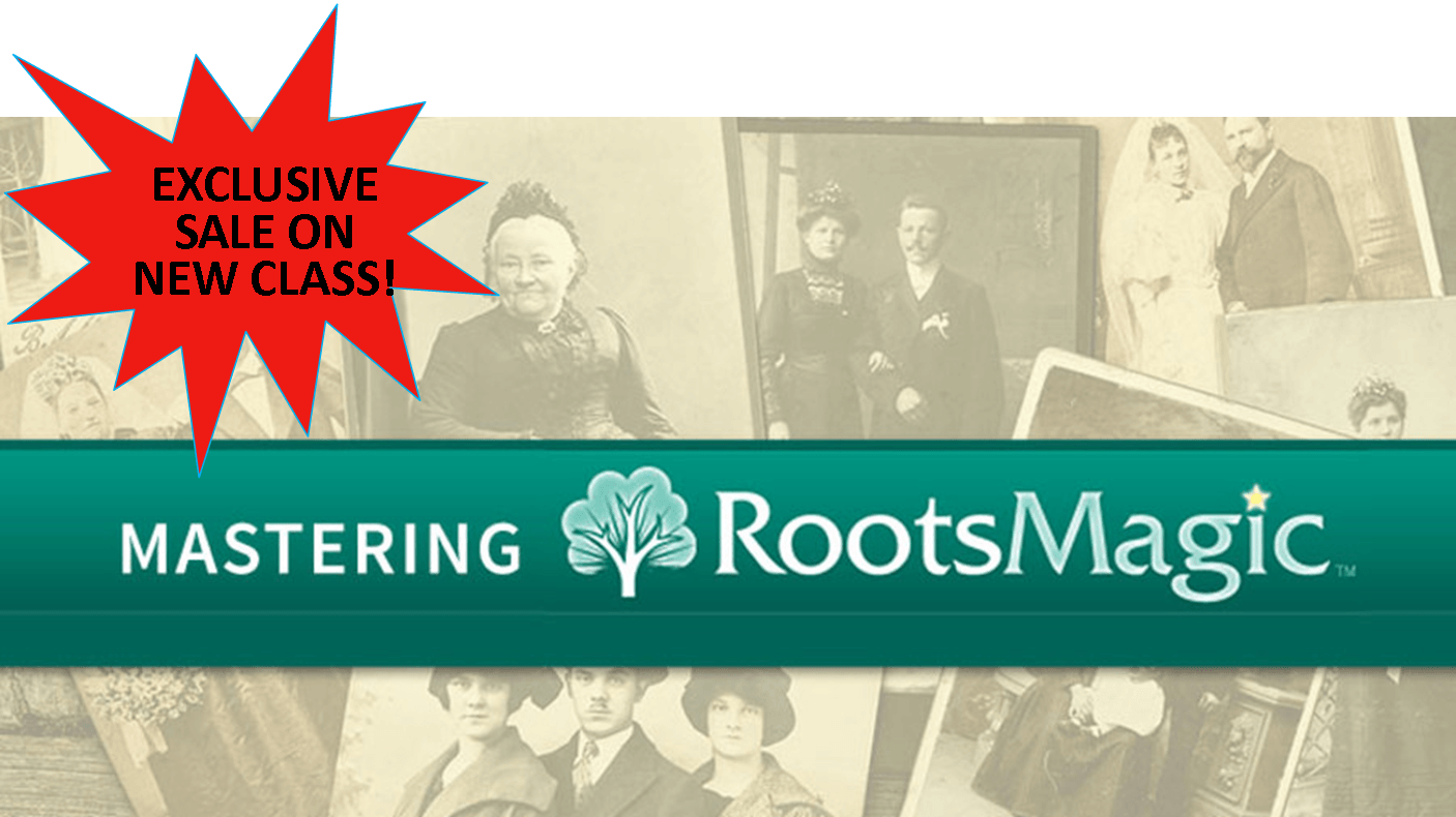 Here's an Exclusive Discount on NEW Mastering RootsMagic Class