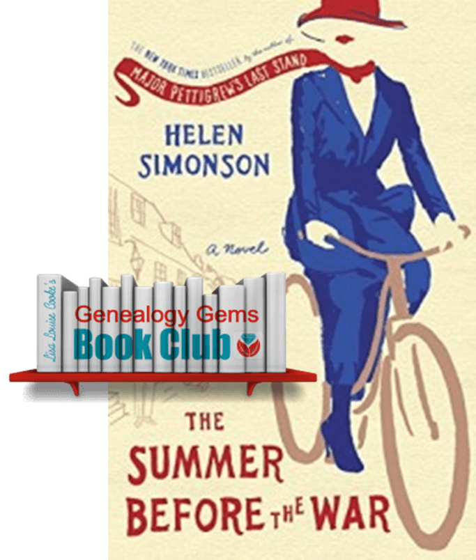 New Genealogy Book Club Pick: WWI-Era Novel by NYT Bestseller