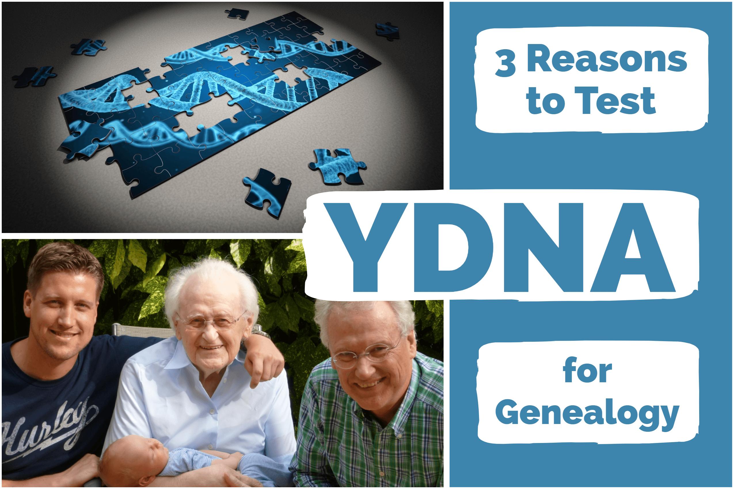 YDNA for Genealogy: 3 Scenarios When YDNA is Useful