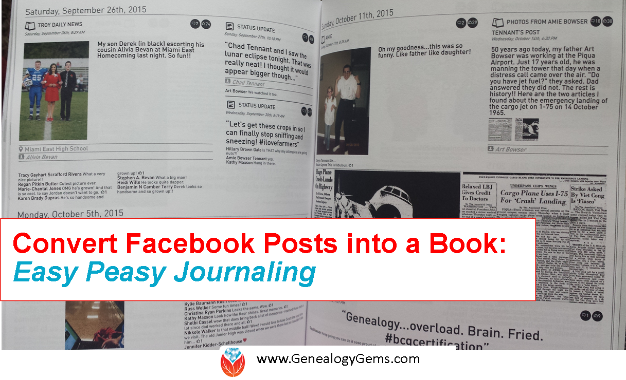 Turn Facebook Posts into a Book with This Service