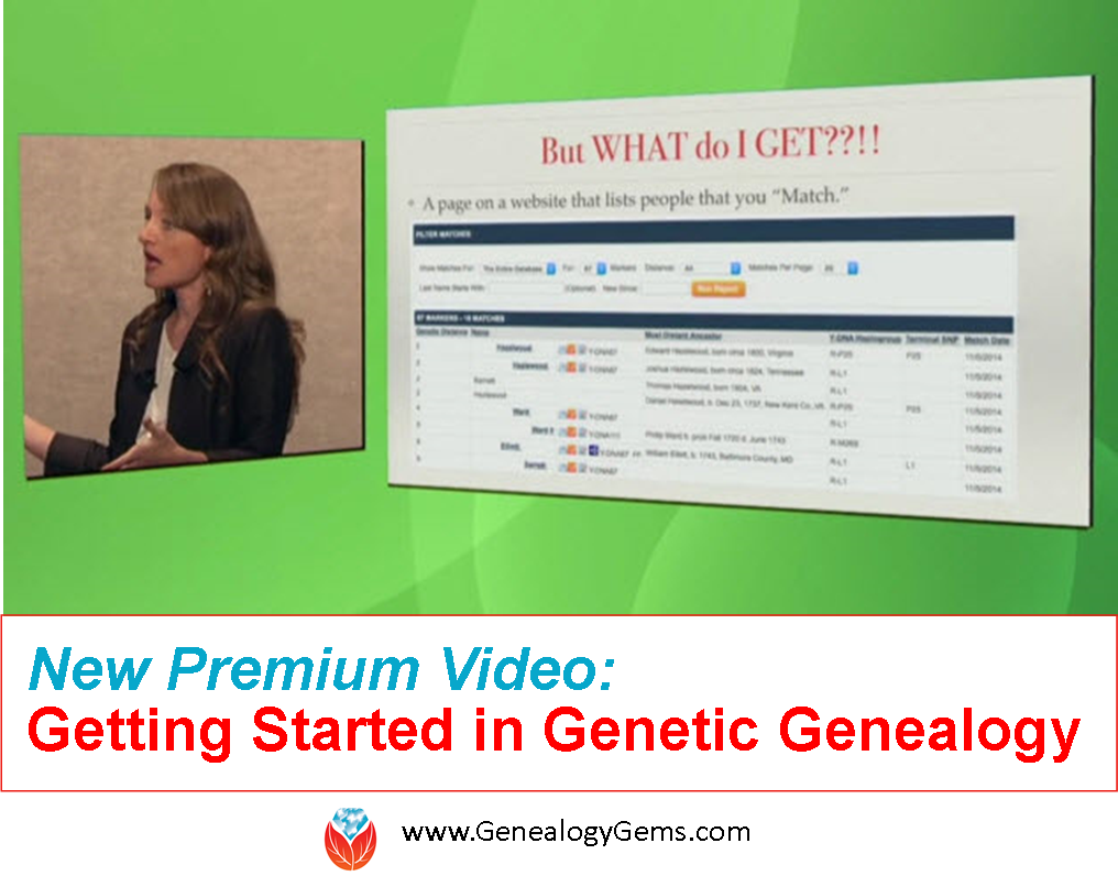 DNA Testing for Family History: New Premium Video