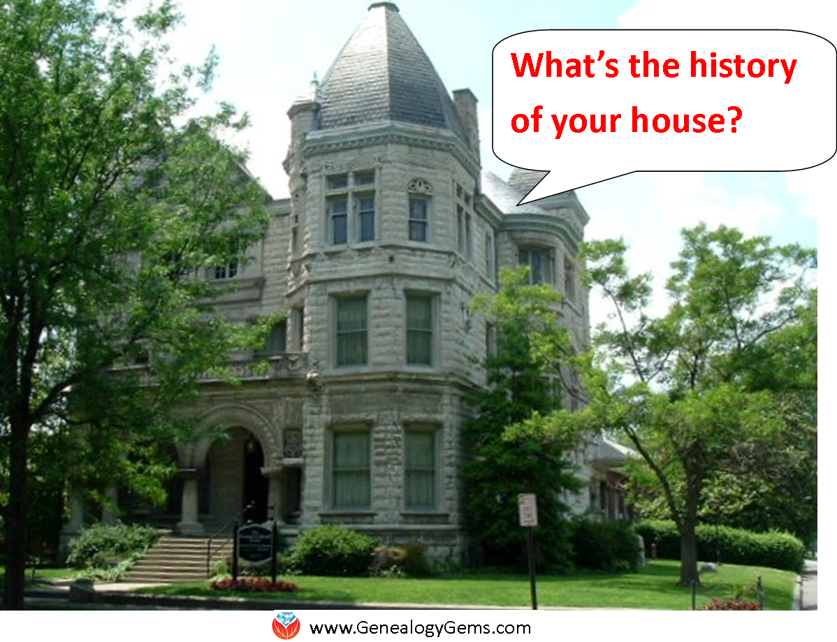 "Discover Your House History: ""If These Walls Could Speak"""