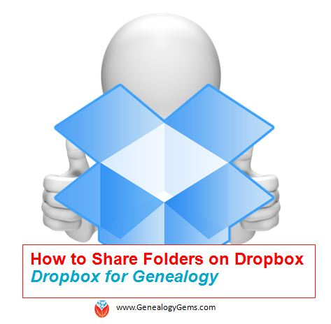 How to Share Folders on Dropbox