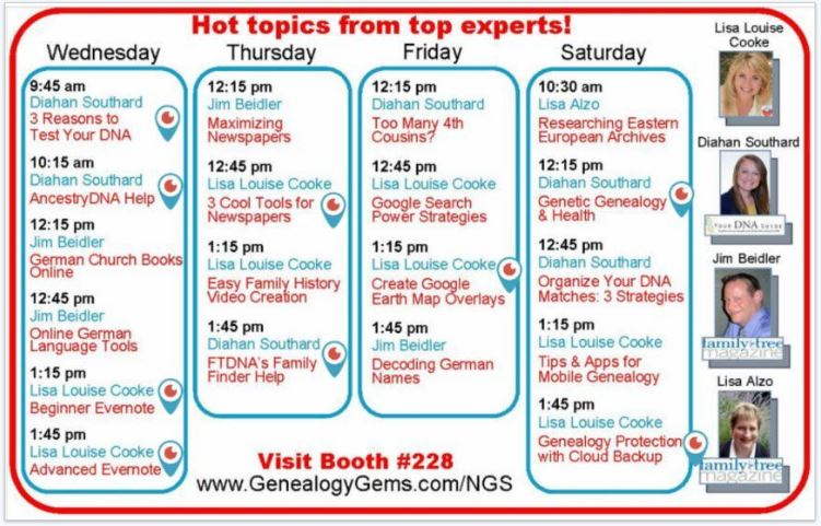 FREE NGS 2016 Live Streaming Sessions Have Begun