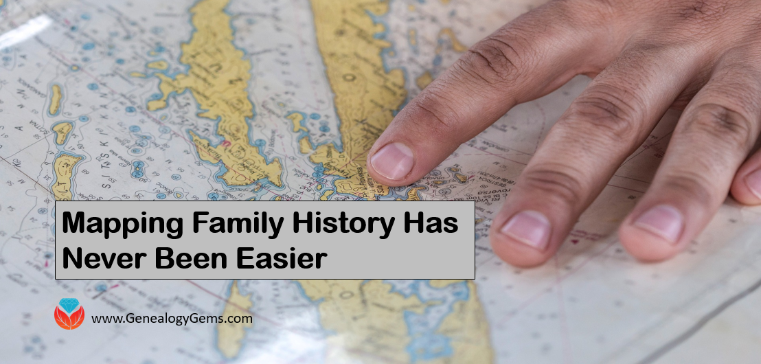 family maps and migration routes are easy