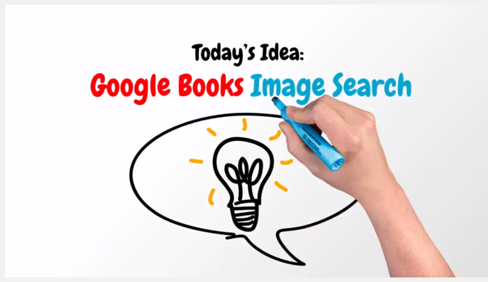 Google books image search saves time