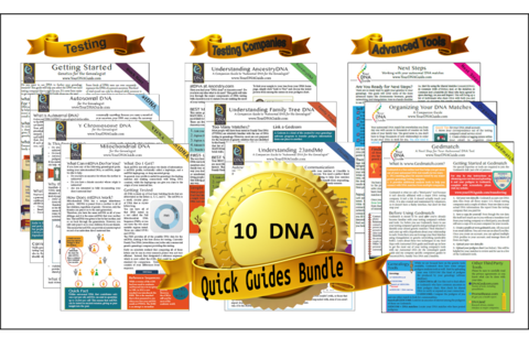 Super DNA quick guide bundle