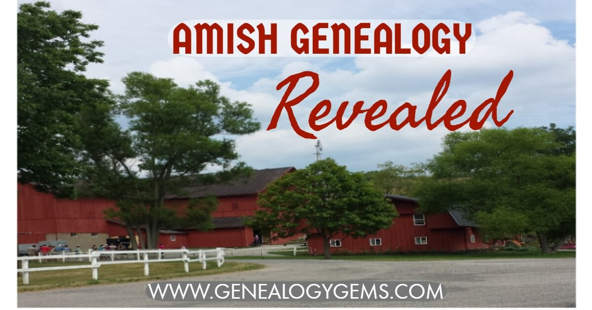 Amish Genealogy Revealed