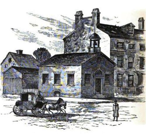 The Boston Latin School, established 1635 first school