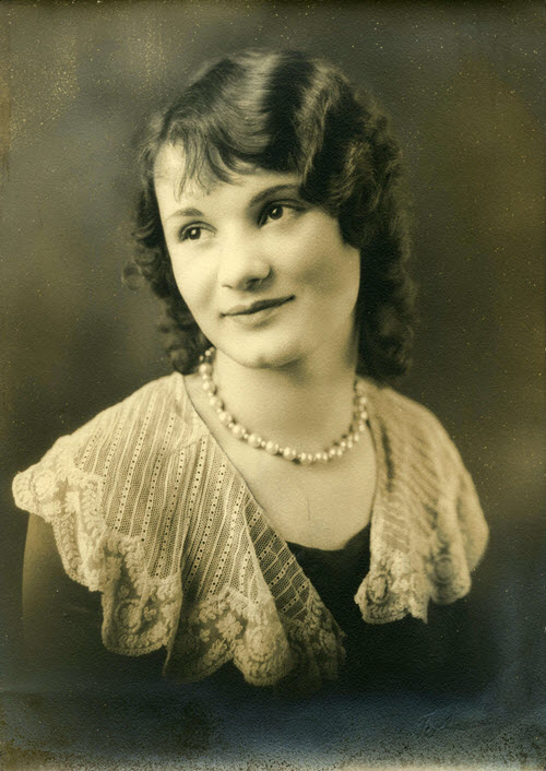 School records: senior portrait