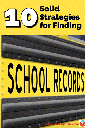 10 strategies for finding school records