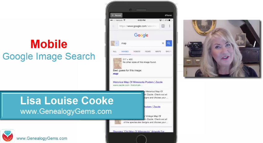 how to use Google image search to identify old photos