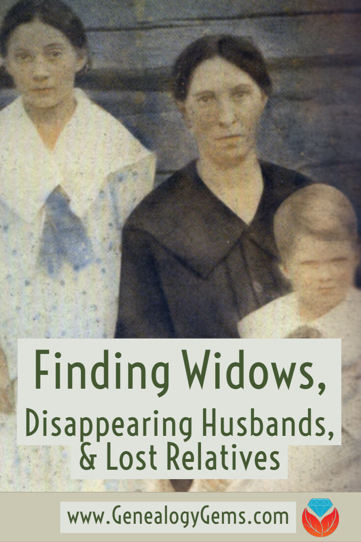 Finding Widows Disappearing Husbands And Lost Relatives