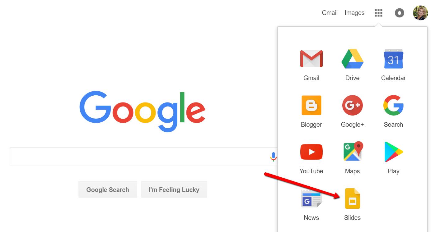 Google Slides for Genealogy Icon