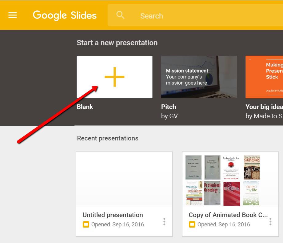 Google Slides For Genealogy Genealogy Gems