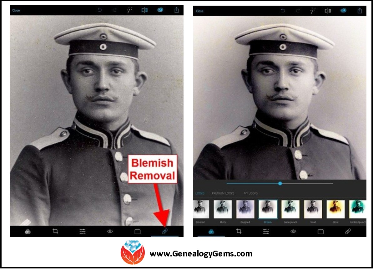 Photo Editing Apps and Software for Family History