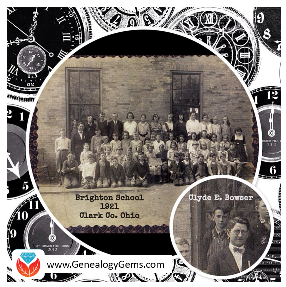 Create clickable art to share genealogy with kids