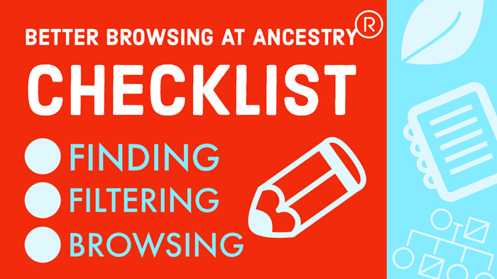 How to Find and Browse Unindexed Records at Ancestry – The Better Browsing Checklist