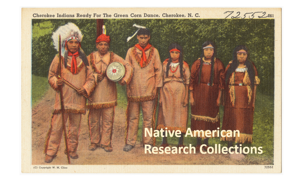 Eastern Cherokee Applications for Native American Research