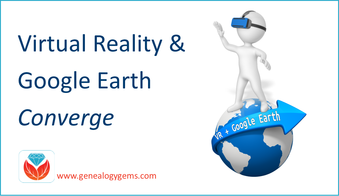 Virtual Reality Google Earth