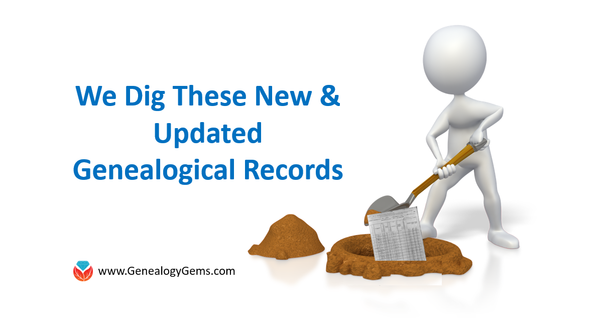 Extraordinary European Records in New and Updated Genealogical Collections