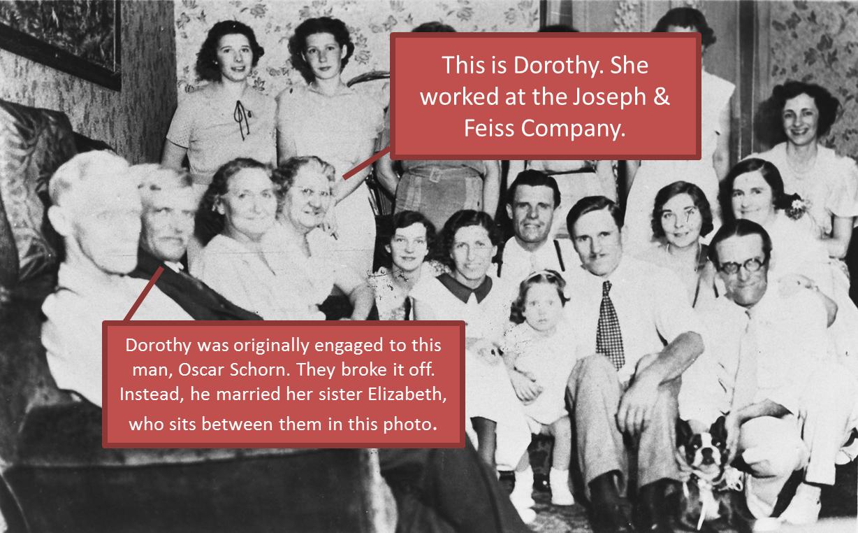 Dorothy Joseph & Feiss