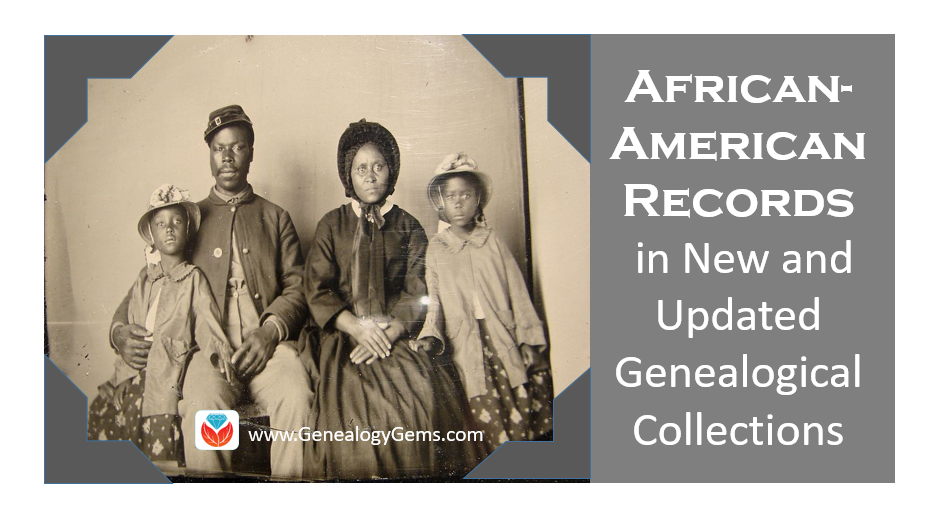 African-American County Slave Records Featured in New and Updated Genealogical Records
