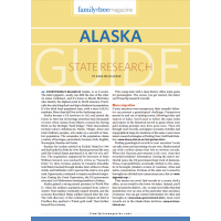 Alaska genealogy guide