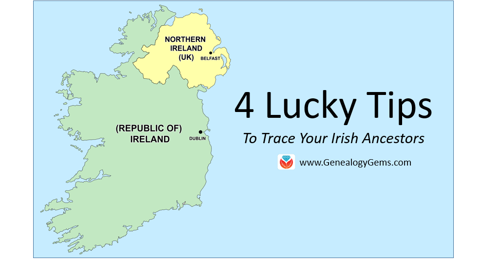 trace Irish ancestors tips