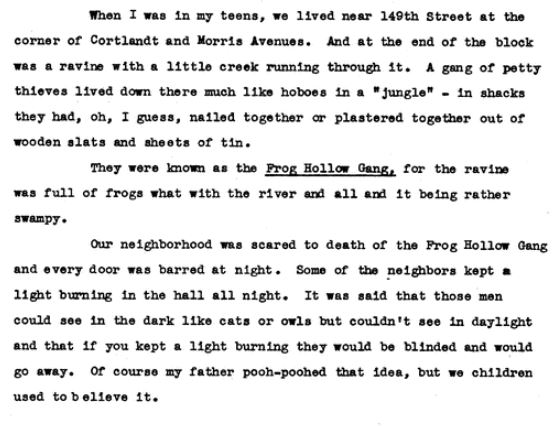 WPA oral history transcription