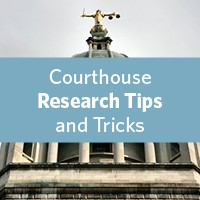 Ohio genealogy courthouse research