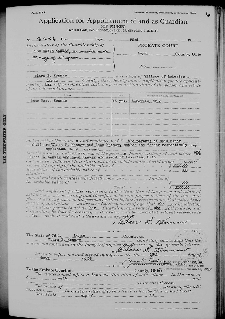 Ohio genealogy research and the virtual courthouse genealogy gems ohio genealogy guardianship record solutioingenieria Image collections