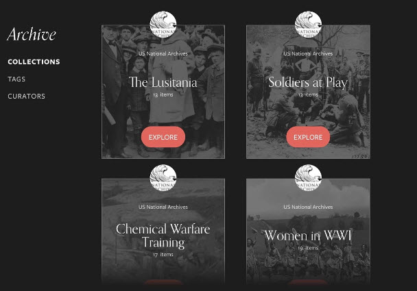 Remembering wwi app