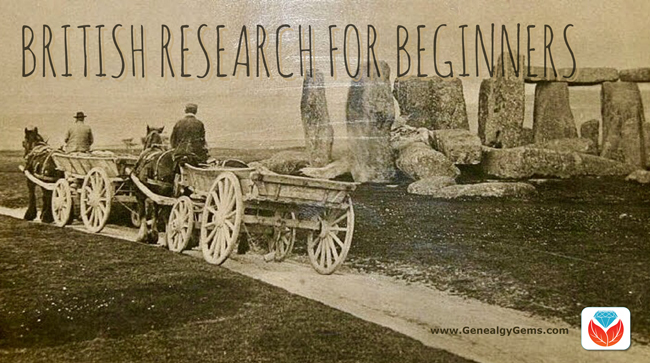 Beginning British Genealogy