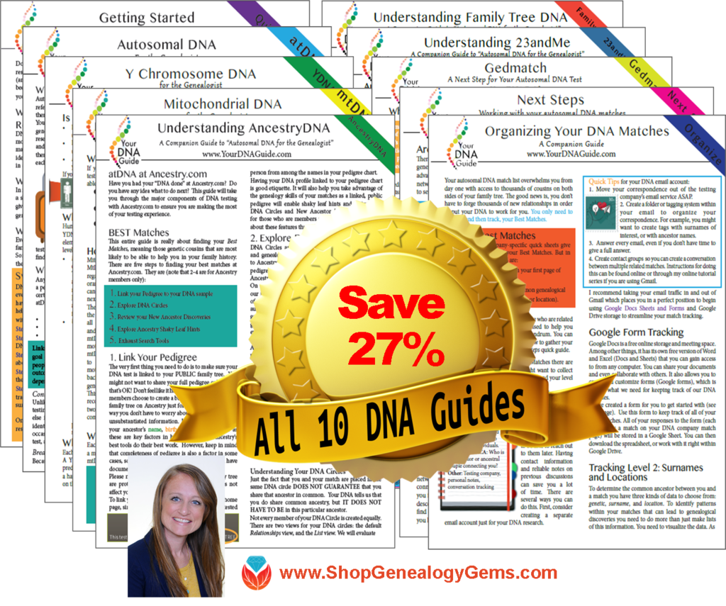 10 DNA Guides Bundle
