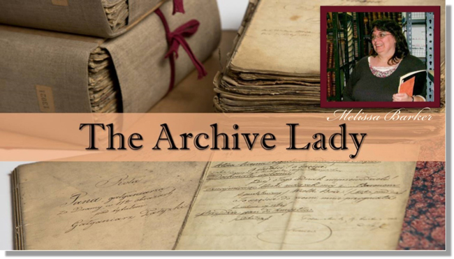 The archive lady Melissa Barker