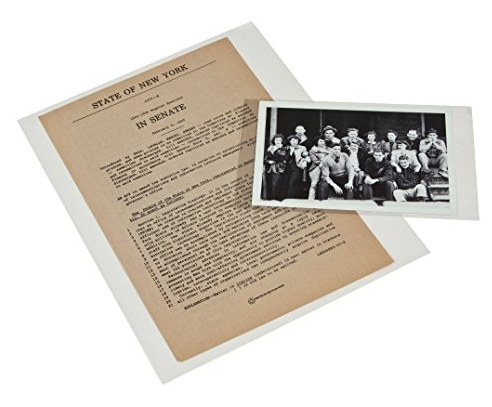 archival sleeve preserving old albums