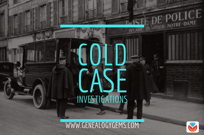 Cold Case investigate your ancestor criminals