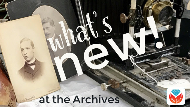 new archival collections
