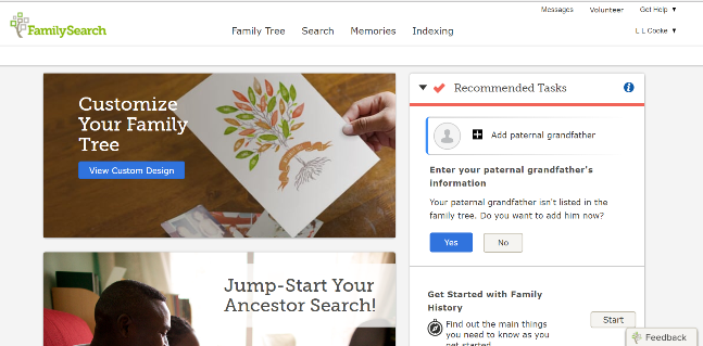 Archives genealogy gems how to get or recover a free familysearch account fandeluxe Gallery
