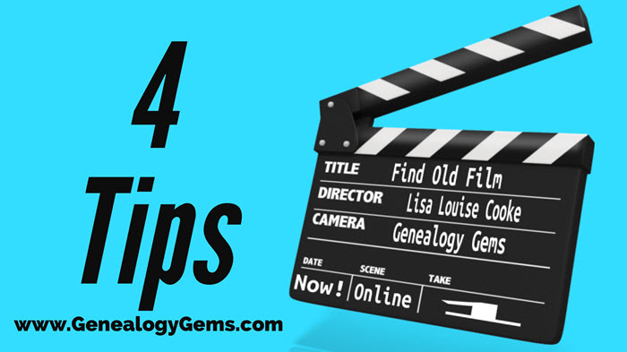 find old film footage tips for finding video online