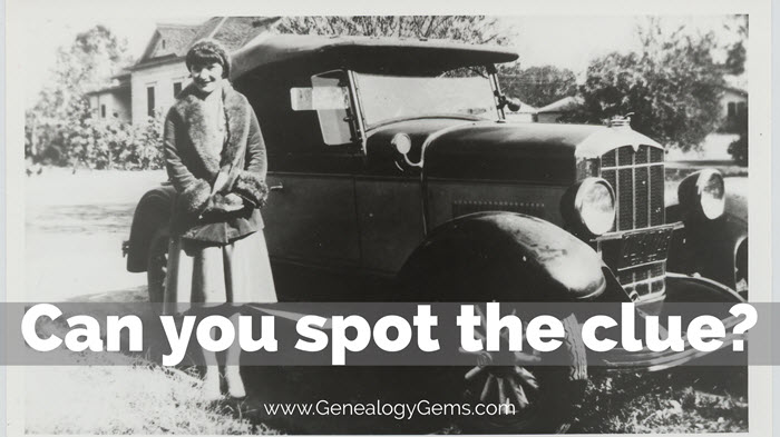 How To Identify Old Cars In Photographs Genealogy Gems - Pictures of old cars